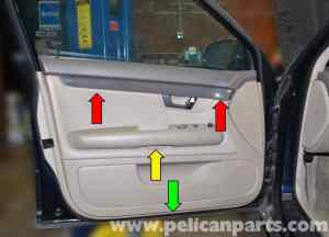 Audi A4 B6 Front Door Panel Removal (20022008) | Pelican