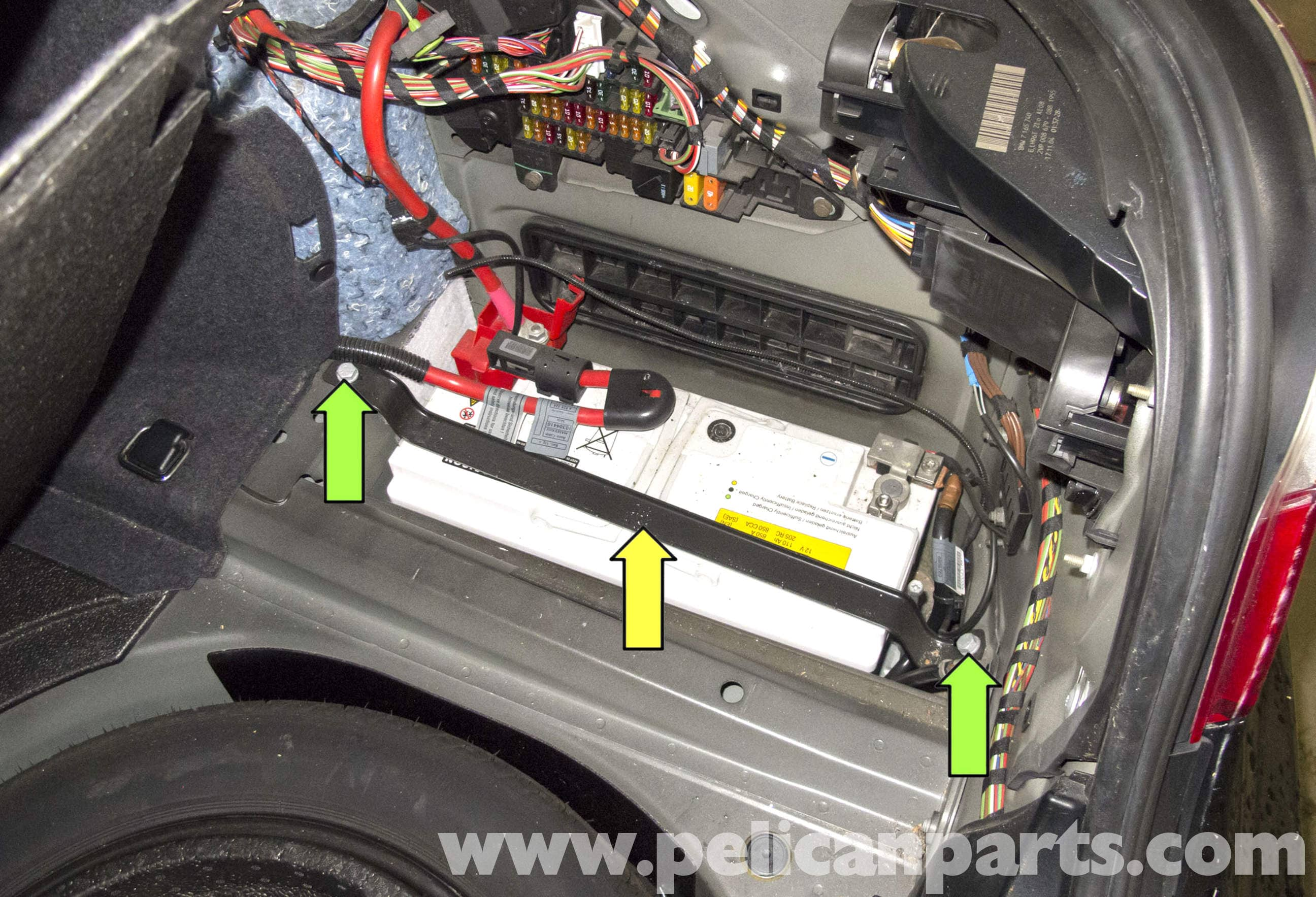 Amp Wiring For 1998 Bmw E39 Bmw E60 5 Series Battery And Connection Notes Replacement
