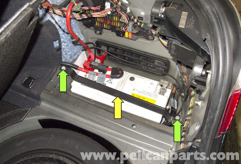 2005 Range Rover Hse Fuse Box Diagram Bmw E60 5 Series Battery And Connection Notes Replacement