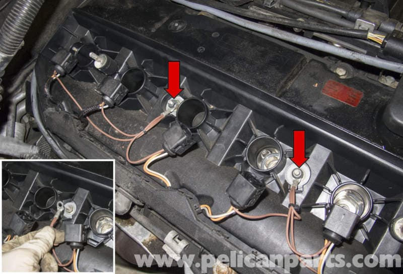 Can Wiring Diagram E60 Bmw E60 M54 6 Cylinder Engine Valve Cover Replacement