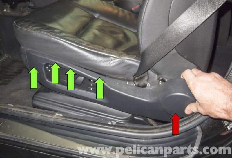 2008 Bmw X3 Fuse Diagram Bmw E60 5 Series Seat Switch Testing And Replacement 2003