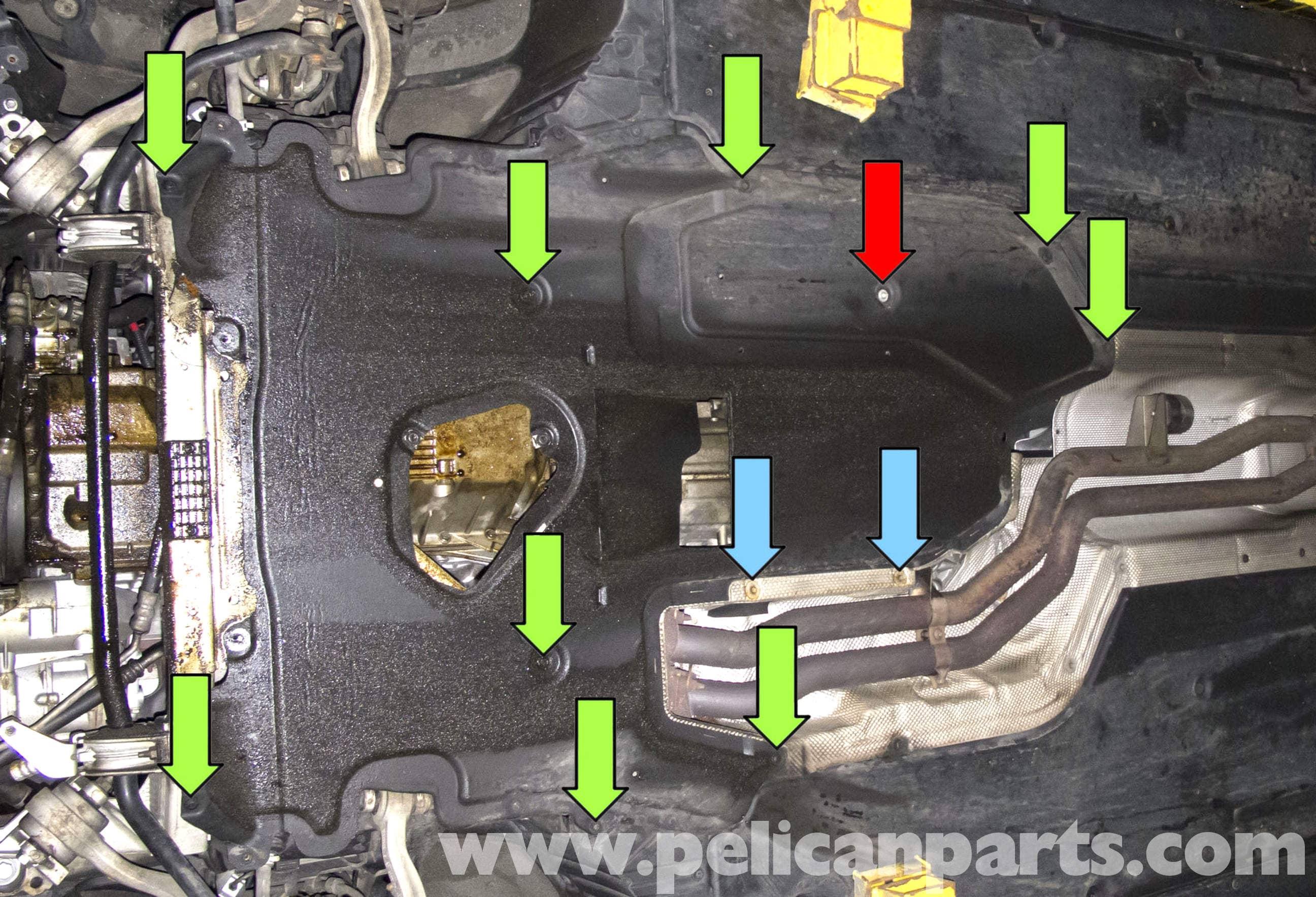2006 330xi Fuse Diagram Bmw E60 5 Series Engine Transmission Splash Shield Removal