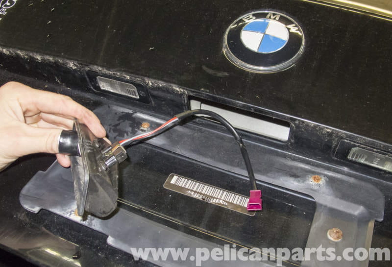 bmw mini cooper wiring diagram 2001 jeep wrangler radio e60 5-series trunk release button replacement (2003-2010) - pelican parts technical article