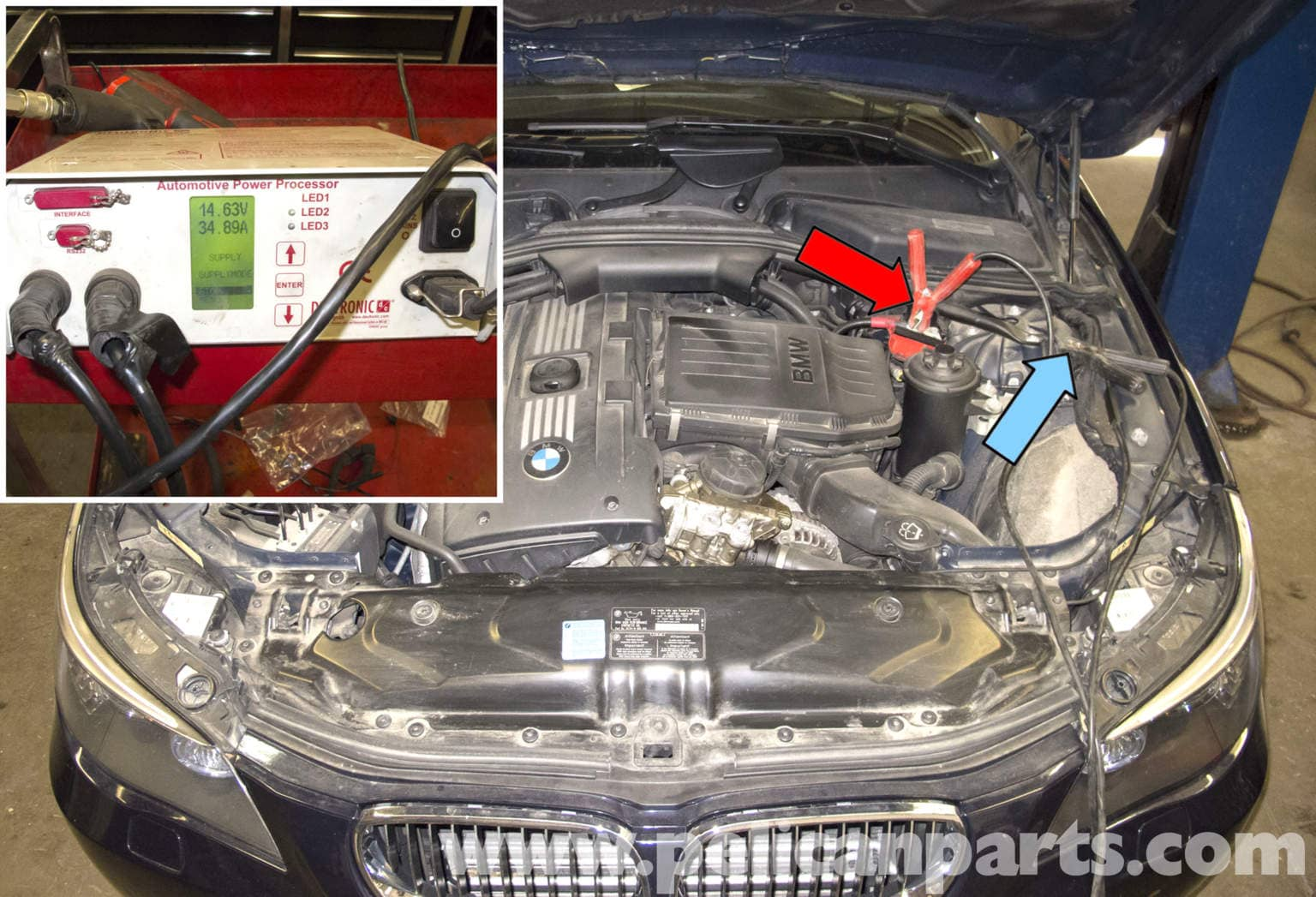 hight resolution of bmw e60 5 series water pump testing pelican parts technical article 2005 bmw 530i wiring diagram