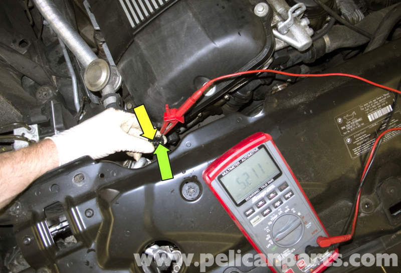 fan wiring diagram mercedes benz w210 bmw e60 5-series radiator temperature sensor replacement (2003-2010) - pelican parts technical ...