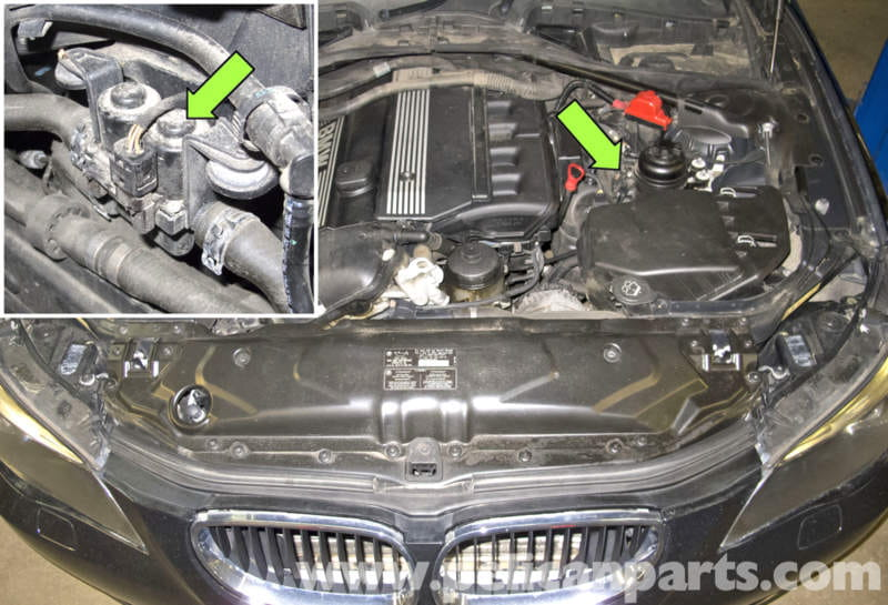 Li Hood Diagram Bmw E60 5 Series Heater Valve Testing And Replacement