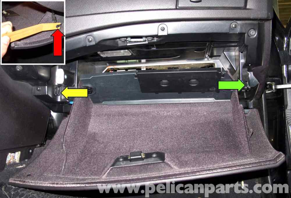 medium resolution of bmw e60 5 series glove box replacement 2003 2008 pelican parts large image