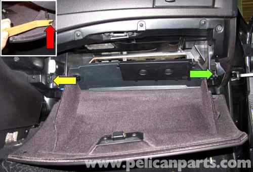 small resolution of bmw e60 5 series glove box replacement 2003 2008 pelican parts large image