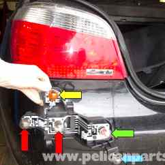 Led Tail Light Wiring Diagram Ac Motor Speed Controller Circuit Bmw E60 5-series Replacement (2003-2010) - Pelican Parts Technical Article