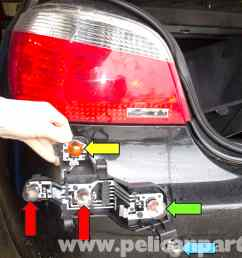 pic01 bmw e60 5 series tail light replacement 2003 2010 pelican e60 tail light [ 2592 x 1767 Pixel ]