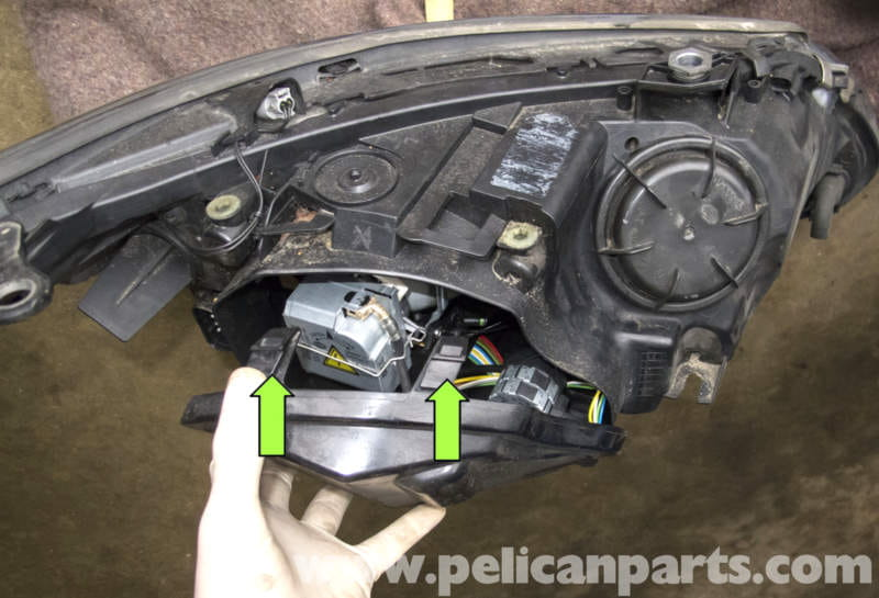ford focus door parts diagram hvac electrical wiring symbols bmw e60 5-series xenon headlight replacement (2003-2010) - pelican technical article