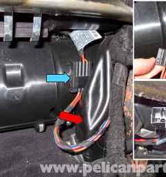 pic13 bmw e60 5 series hvac stepper motor replacement 2003 2010 multi speed blower motor [ 2592 x 1767 Pixel ]