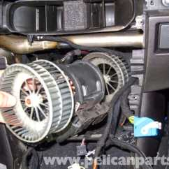 Elec Fan Wiring Diagram Fill In The Blank Muscle Bmw E60 5-series Blower Motor & Resistor Replacement - Pelican Parts Technical Article