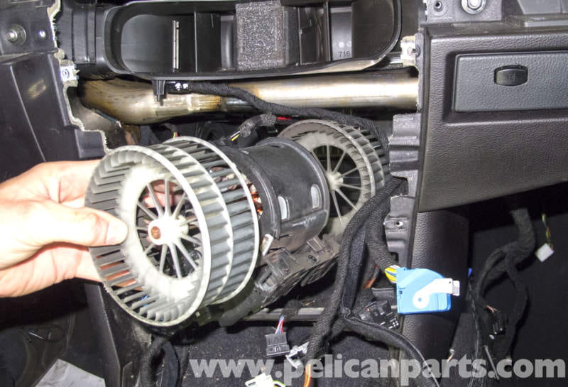 elec fan wiring diagram process flow examples bmw e60 5-series blower motor & resistor replacement - pelican parts technical article