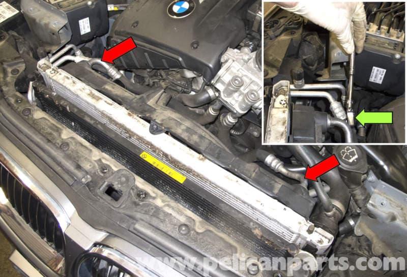 2006 Bmw X5 Wiring Schematics Bmw E60 5 Series Oil Cooler Replacement N54 Engine