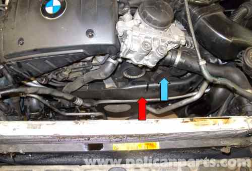 small resolution of e60 n54 engine diagram wiring diagram updatebmw e60 5 series drive belt tensioner idler