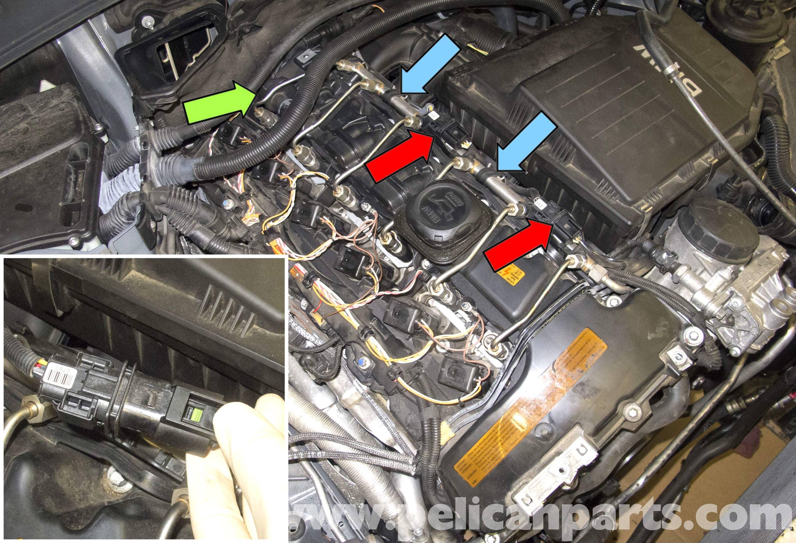 Li Hood Diagram Bmw E60 5 Series N54 Engine Oxygen Sensor Replacement