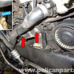 Vw Eos Parts Diagram E46 Seat Wiring Bmw E60 5-series N54 Engine Charge Air Duct Replacing - Pelican Technical Article