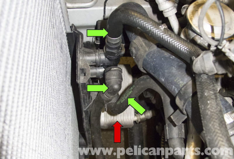 2003 audi a4 engine diagram mobile home ac wiring bmw x5 transmission cooler and thermostat replacement (e53 2000 - 2006)   pelican parts diy ...