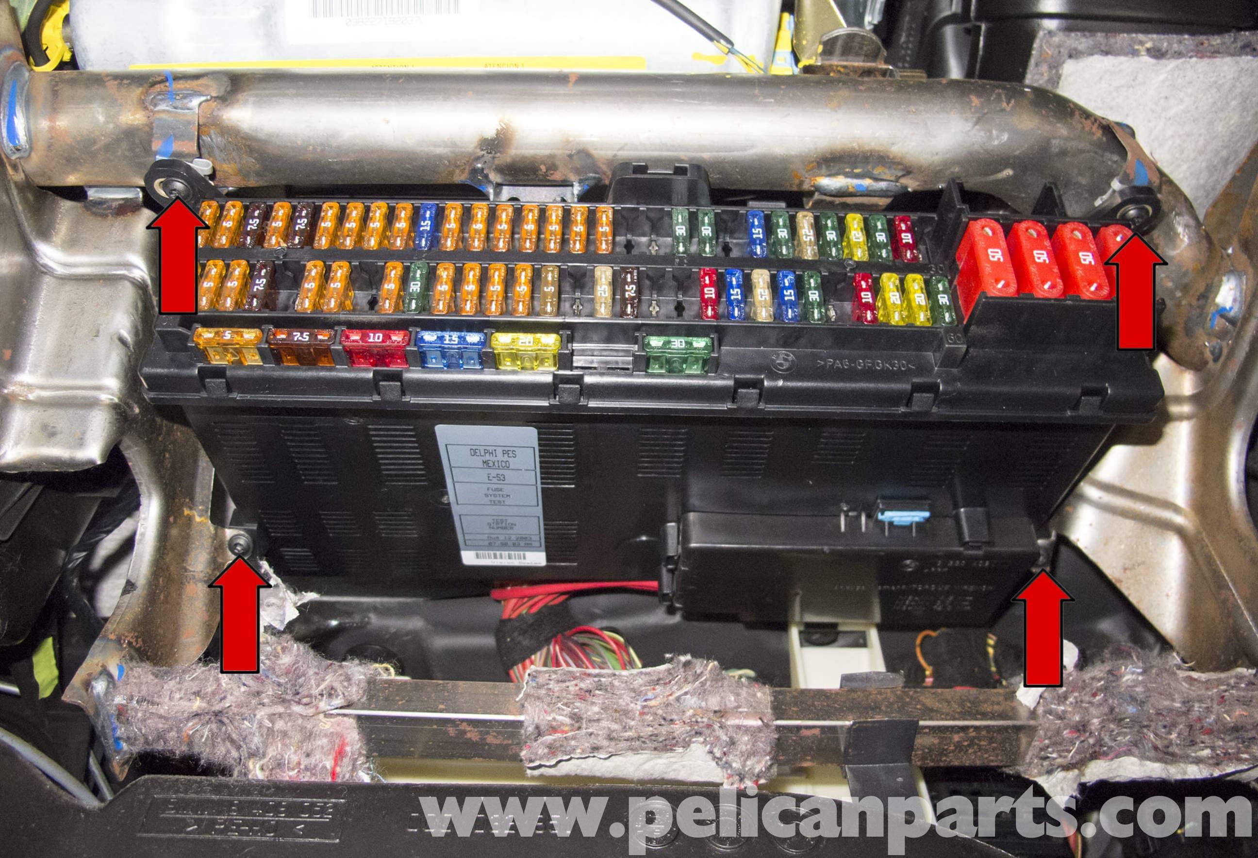 2008 Bmw Z4 Fuse Box Bmw X5 Fuel Pump Testing E53 2000 2006 Pelican Parts