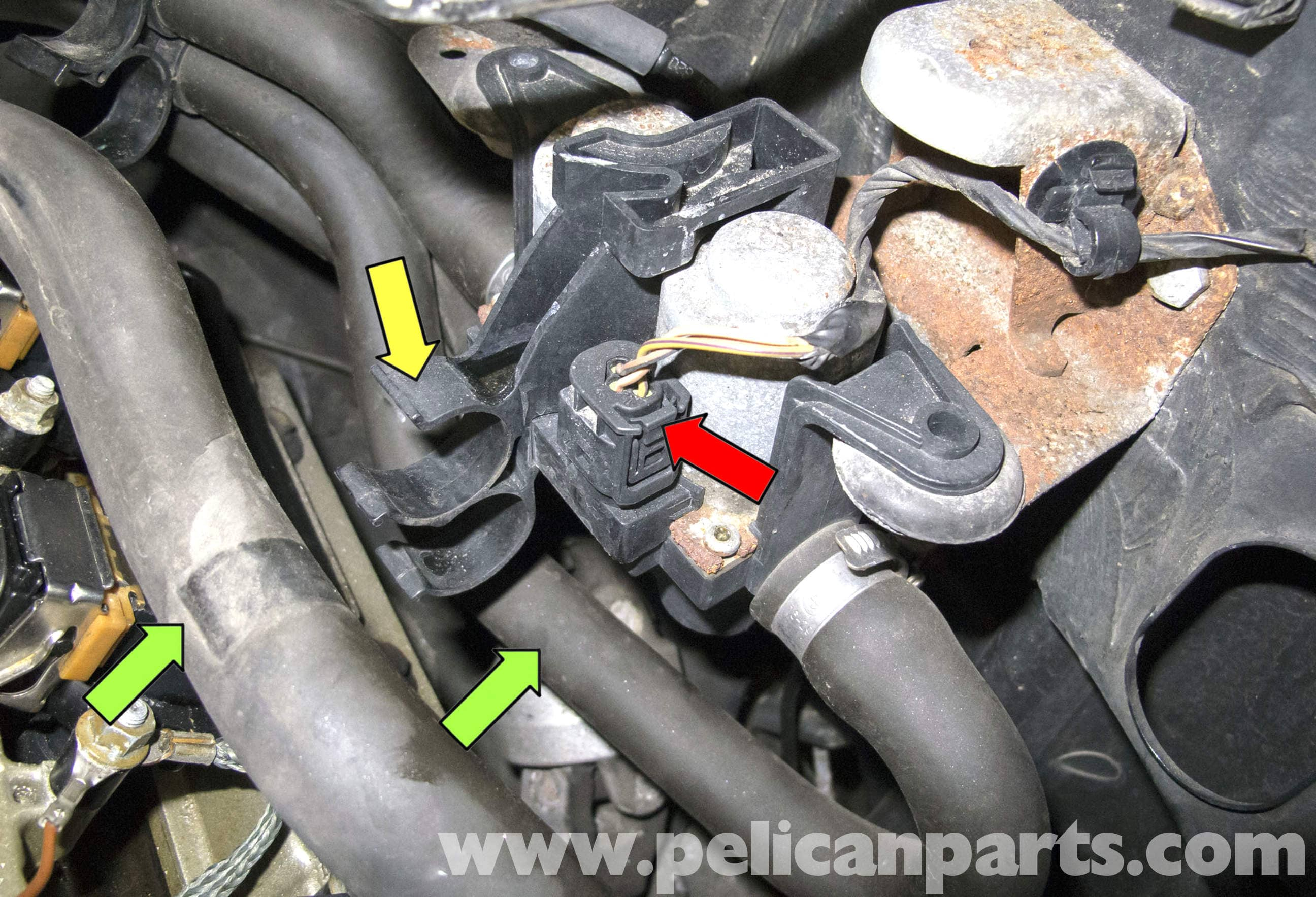 2007 Cadillac Cts Fuse Box Bmw X5 Heater Valve Testing And Replacement E53 2000