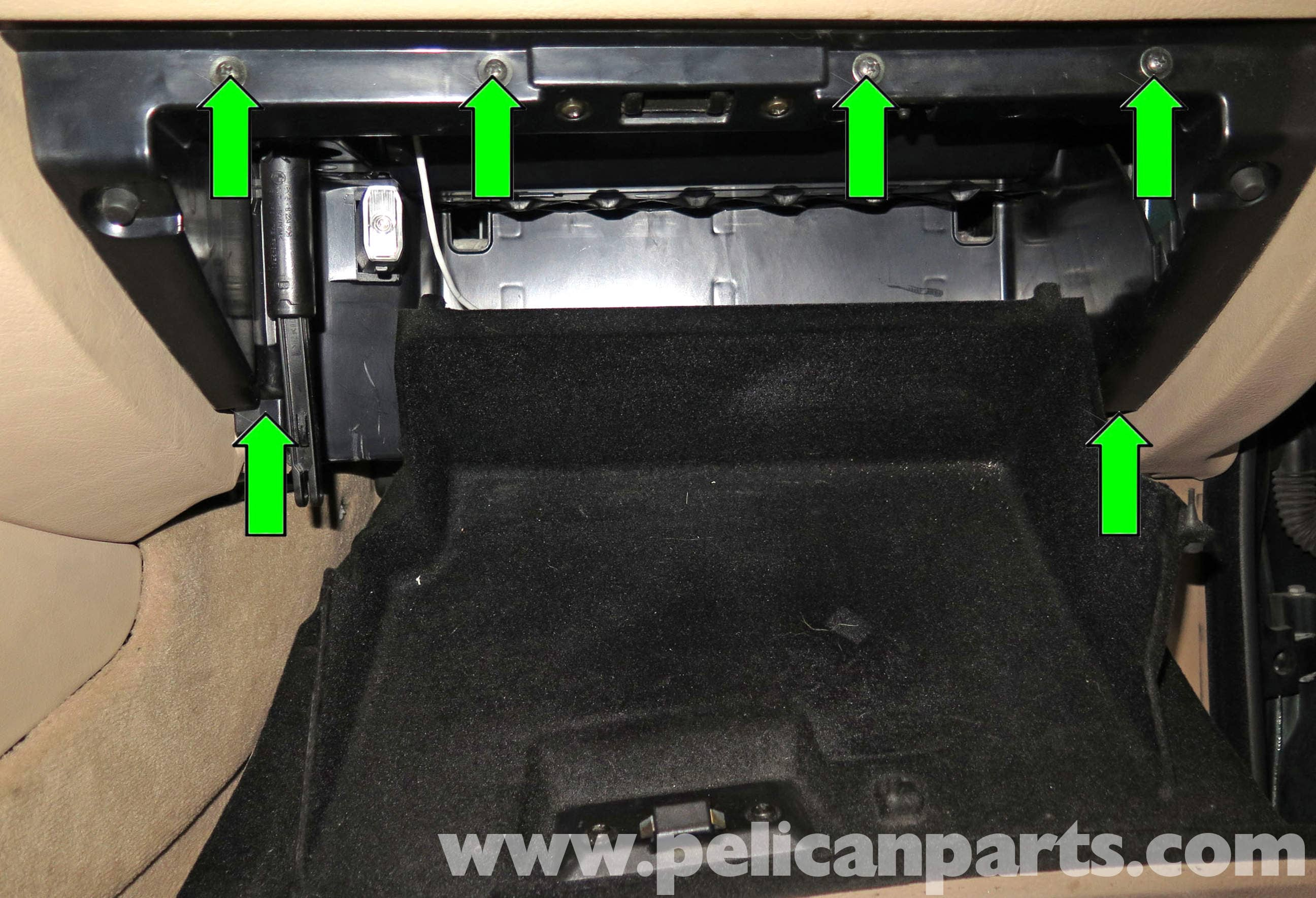525i Fuse Box Pelican Parts Technical Article Bmw X5 Glove Box Removal