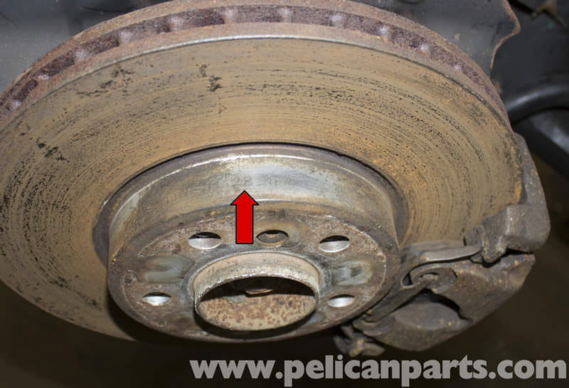 Bmw X5 Brake Rotor Specification Checking E53 2000 2006