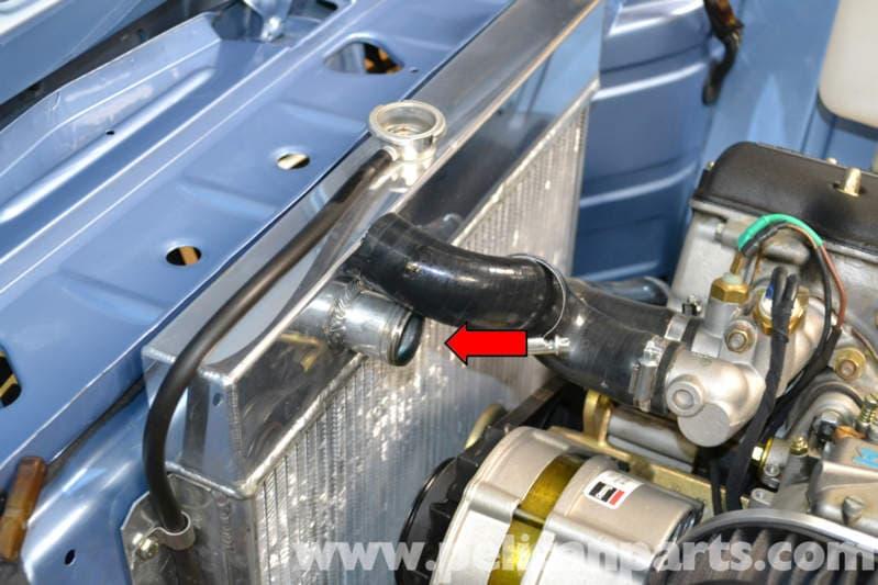 2002 Z24 Engine Coolant Leak