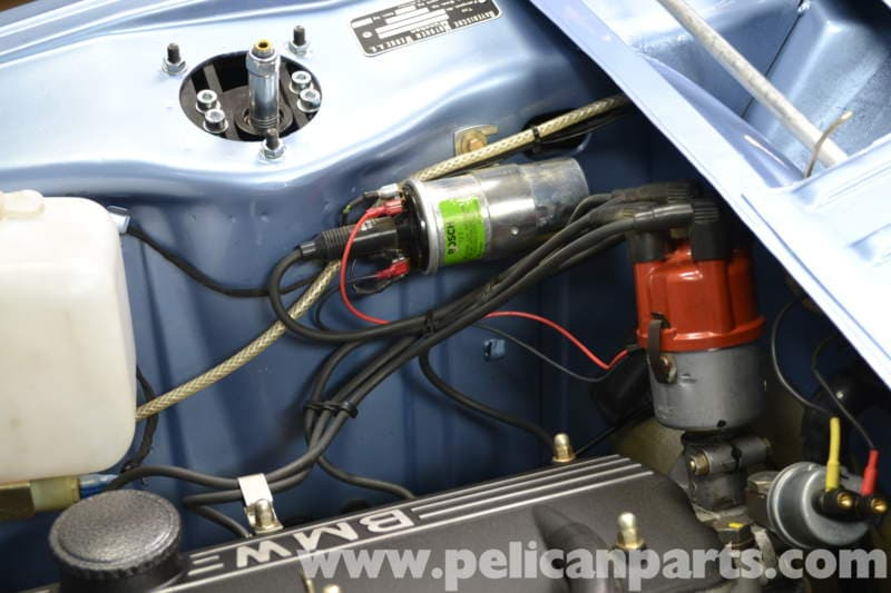1976 Corvette Engine Compartment Diagram Bmw 2002 Coil Testing And Replacement 1966 1976