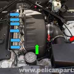 E36 Wiring Diagram 2000 Kenworth W900 Bmw Z4-m S54 6-cylinder Throttle Body Replacement   2003-2006 Pelican Parts Diy Maintenance ...