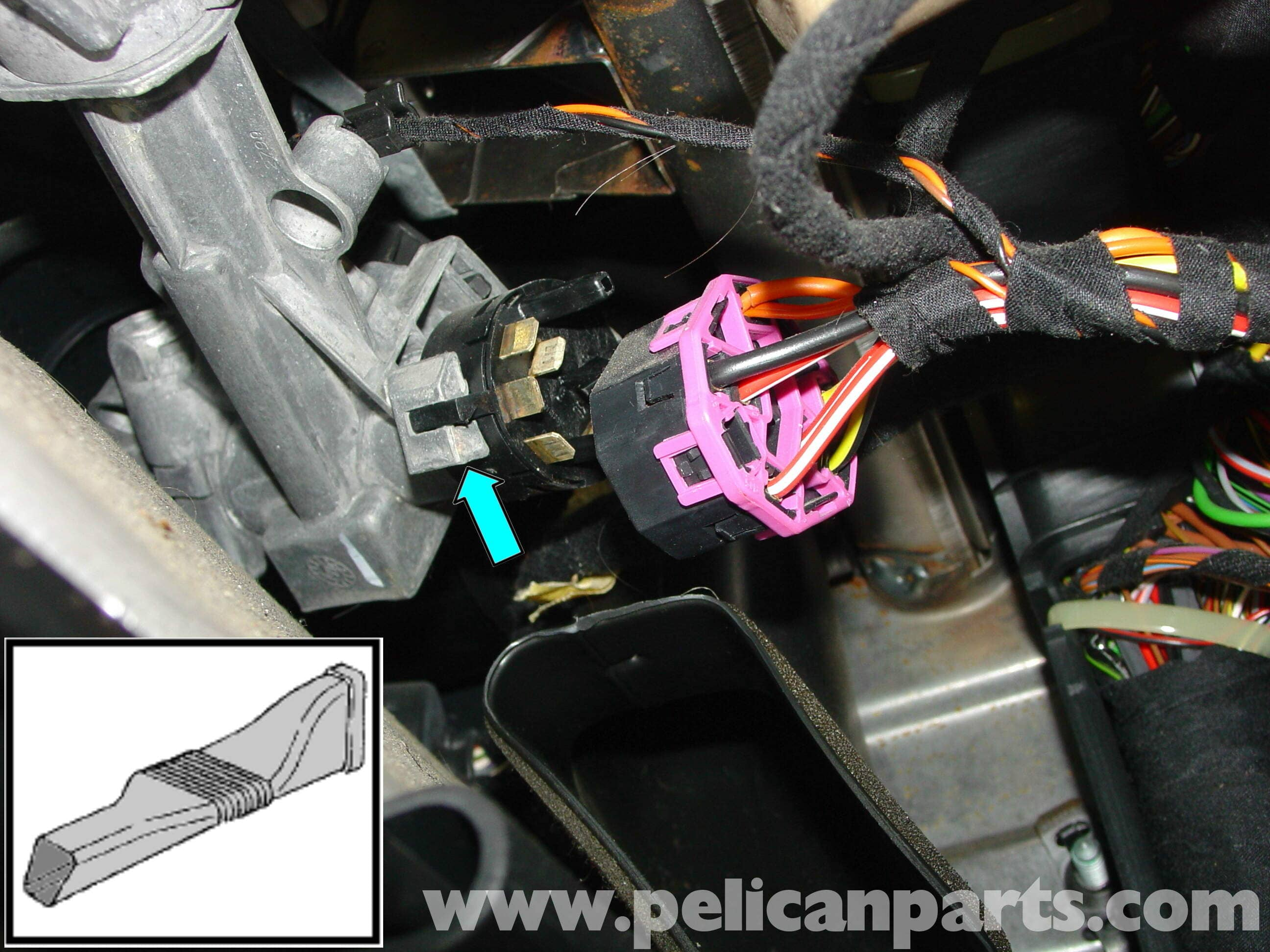 2 position push pull light switch wiring diagram 2002 vw beetle alternator porsche boxster ignition replacement - 986 / 987 (1997-08) pelican parts technical article