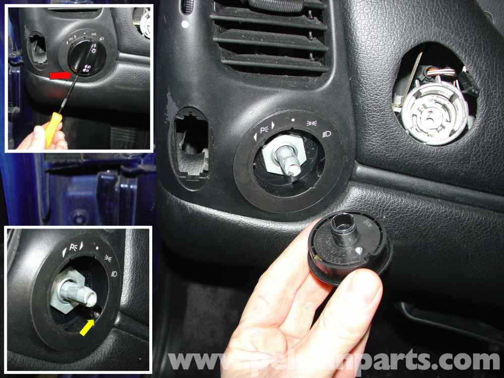 medium resolution of porsche boxster headlamp switch replacement 986 987 1997 08 1968 ford headlight switch wiring diagram boxster headlight switch wiring diagram
