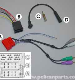 porsche boxster ipod integration and stereo head unit replacement car stereo speaker wiring diagram cayman s car stereo wiring diagram [ 1534 x 1429 Pixel ]
