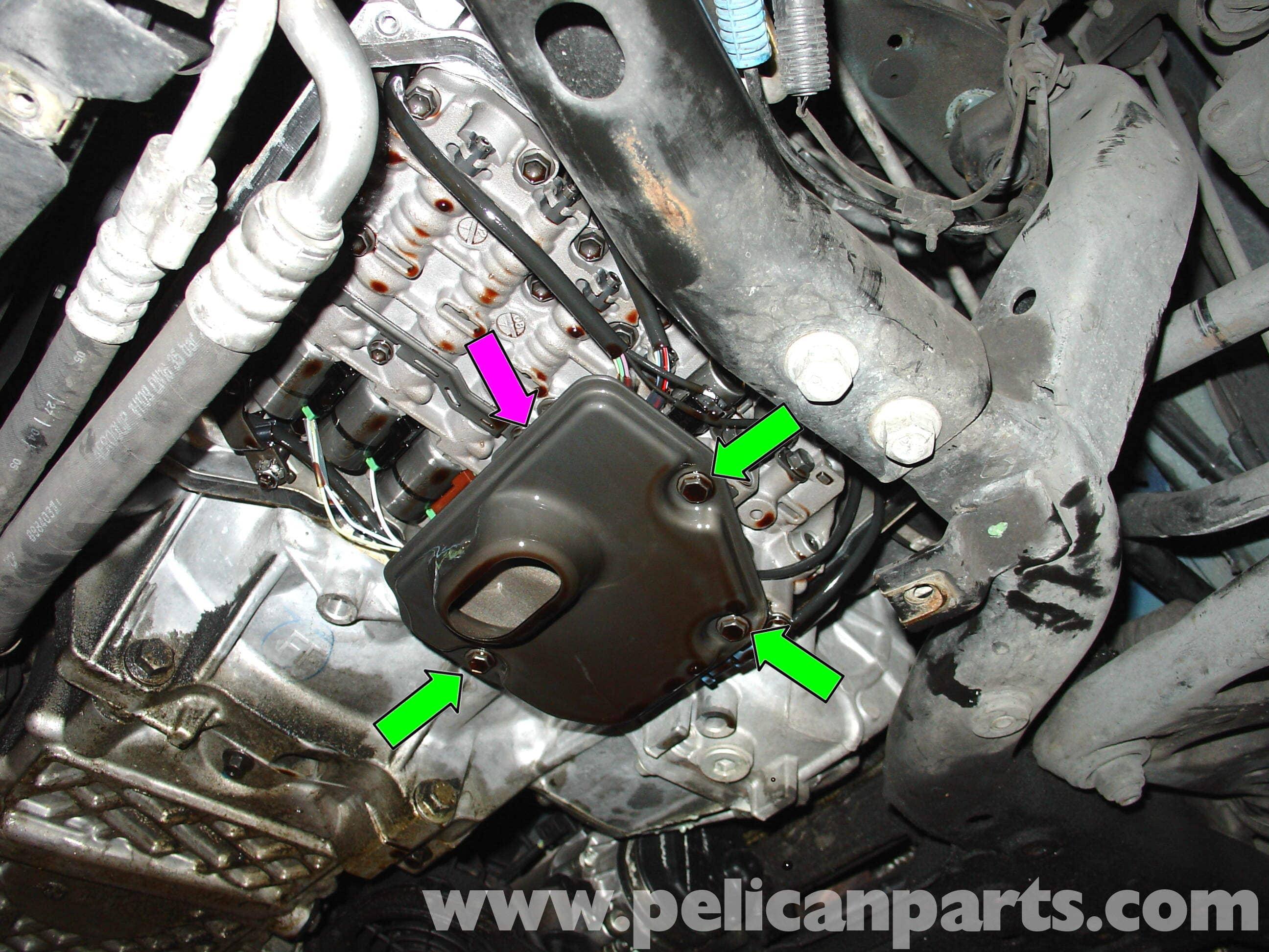 2007 nissan maxima engine diagram scion xb stereo wiring mini cooper automatic transmission fluid change (r50/r52/r53/r56/r57 2001-2015) | pelican parts ...