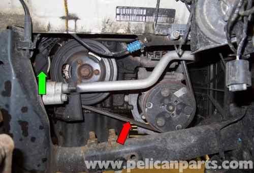 small resolution of mini cooper r56 drive belt replacement 2007 2011 pelican parts rh pelicanparts com 2007 mini cooper