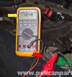 mini cooper r56 fuel pump testing 2007 2011 pelican parts diy mini cooper fuel pump wiring diagram [ 2592 x 1767 Pixel ]