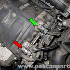 Bmw Vehicle Speed Sensor Wiring Diagram How To Make A Phasor Mini Cooper R56 Camshaft Position Replacement (2007-2011) | Pelican Parts Diy Maintenance ...