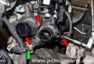 MINI Cooper R56 Turbocharged Engine Thermostat Replacement (20072011) | Pelican Parts DIY