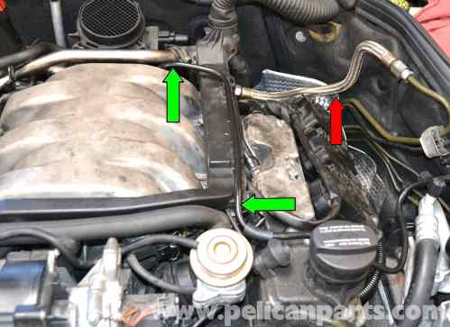 small resolution of mercedes benz clk320 fuel injector replacement 2003 2006 pelican mercedes ml320 fuel filter location 2001 ml320 fuse box