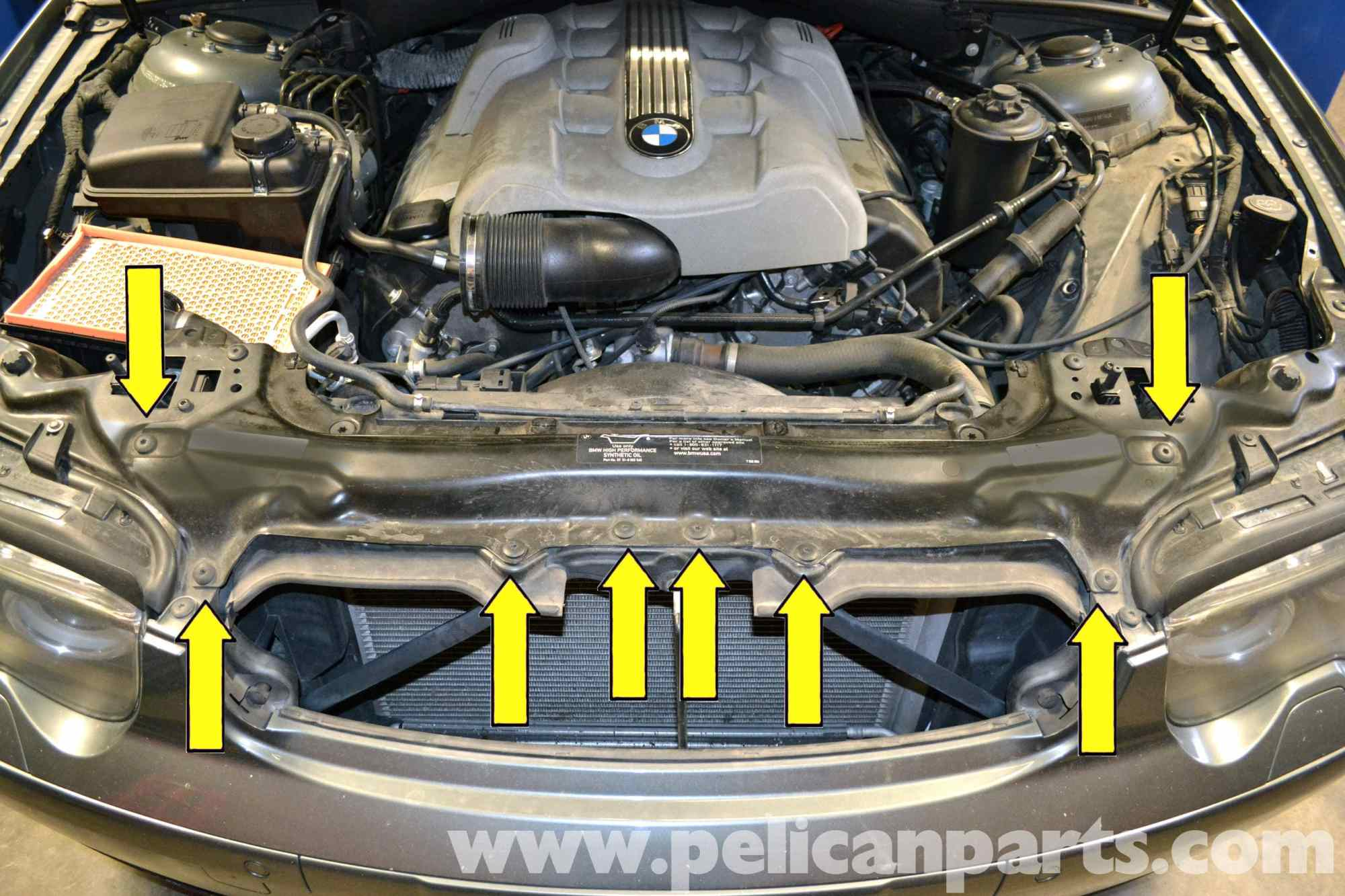 hight resolution of 2006 bmw 750li engine diagram bmw the infamous alternator bracket oil leak on the