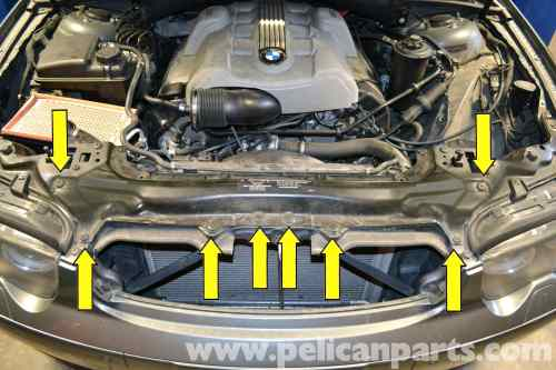 small resolution of 2006 bmw 750li engine diagram bmw the infamous alternator bracket oil leak on the