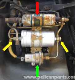 mercedes benz 190e fuel filter replacement w201 1987 1993large image extra large image [ 2591 x 2518 Pixel ]