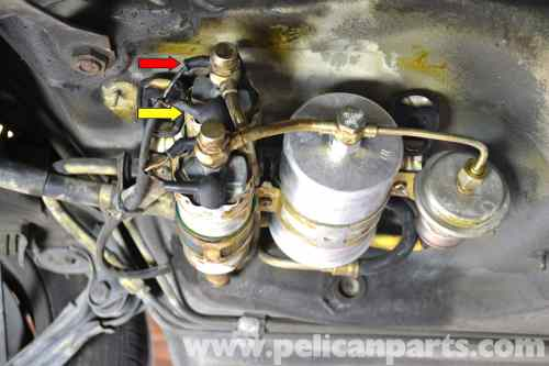 small resolution of mercedes benz 190e fuel pump replacement w201 1987 1993 pelican 1985 mercedes benz fuel system diagram