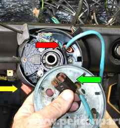 mercedes benz 190e steering wheel removal and replacement w201 rh pelicanparts com mercedes 190e engine wiring [ 2592 x 1728 Pixel ]