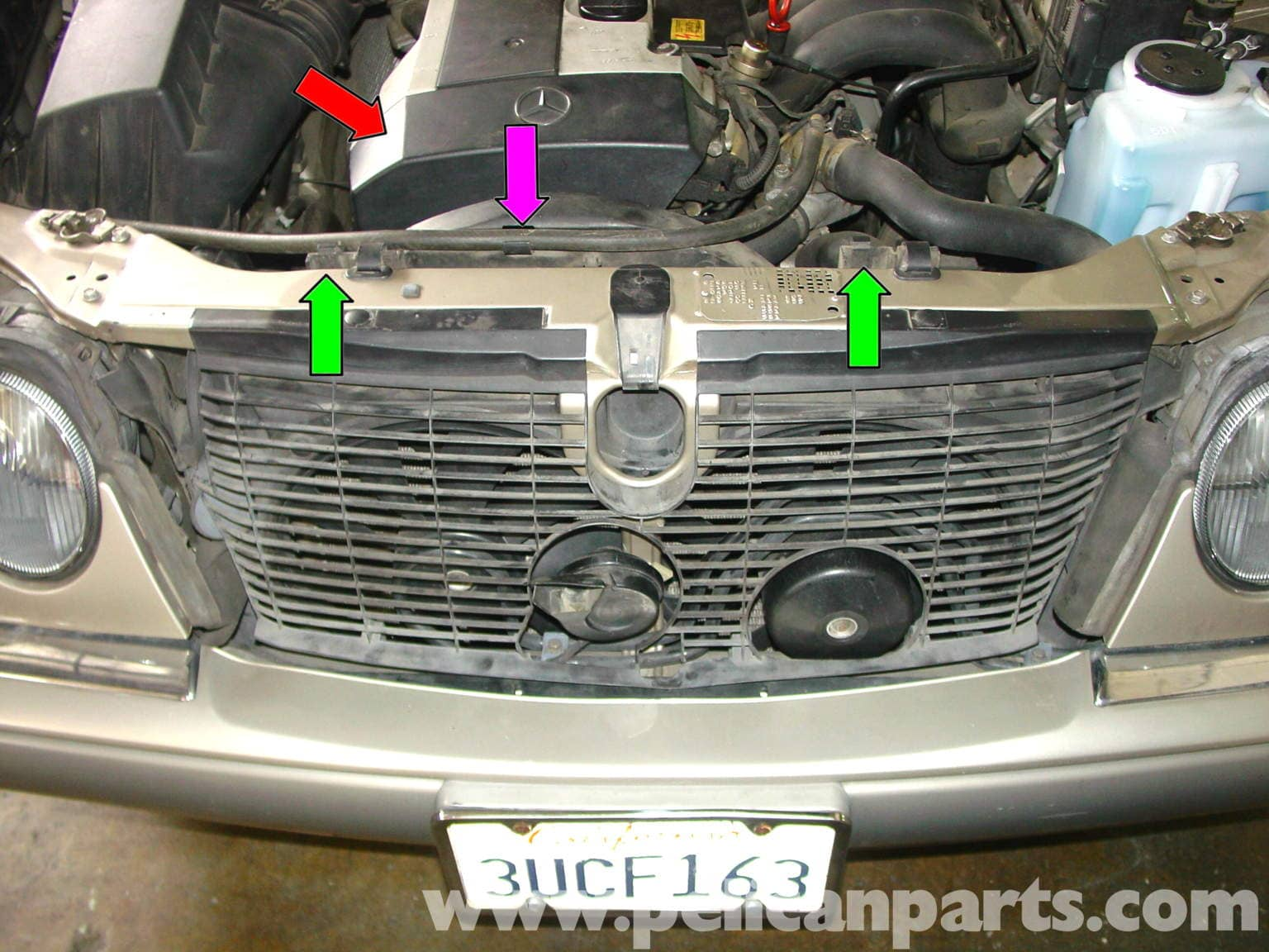 Outside Light Wiring Diagram Uk Mercedes Benz W210 Serpentine Belt Replacement 1996 03