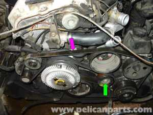 MercedesBenz W210 Serpentine Belt Replacement (199603) E320, E420 | Pelican Parts DIY