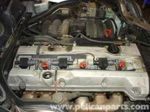 MercedesBenz W210 Spark Plug Replacement (199603) E320