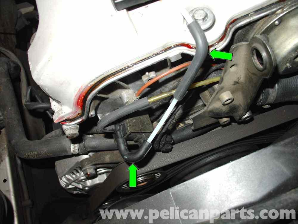 medium resolution of mercedes benz w210 fixing common vacuum leaks 1996 03 e320 e420 rh pelicanparts com 1996 mercedes