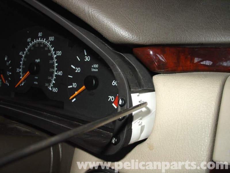2002 Cl500 Fuse Diagram Mercedes Benz W210 Instrument Cluster Bulb Replacement