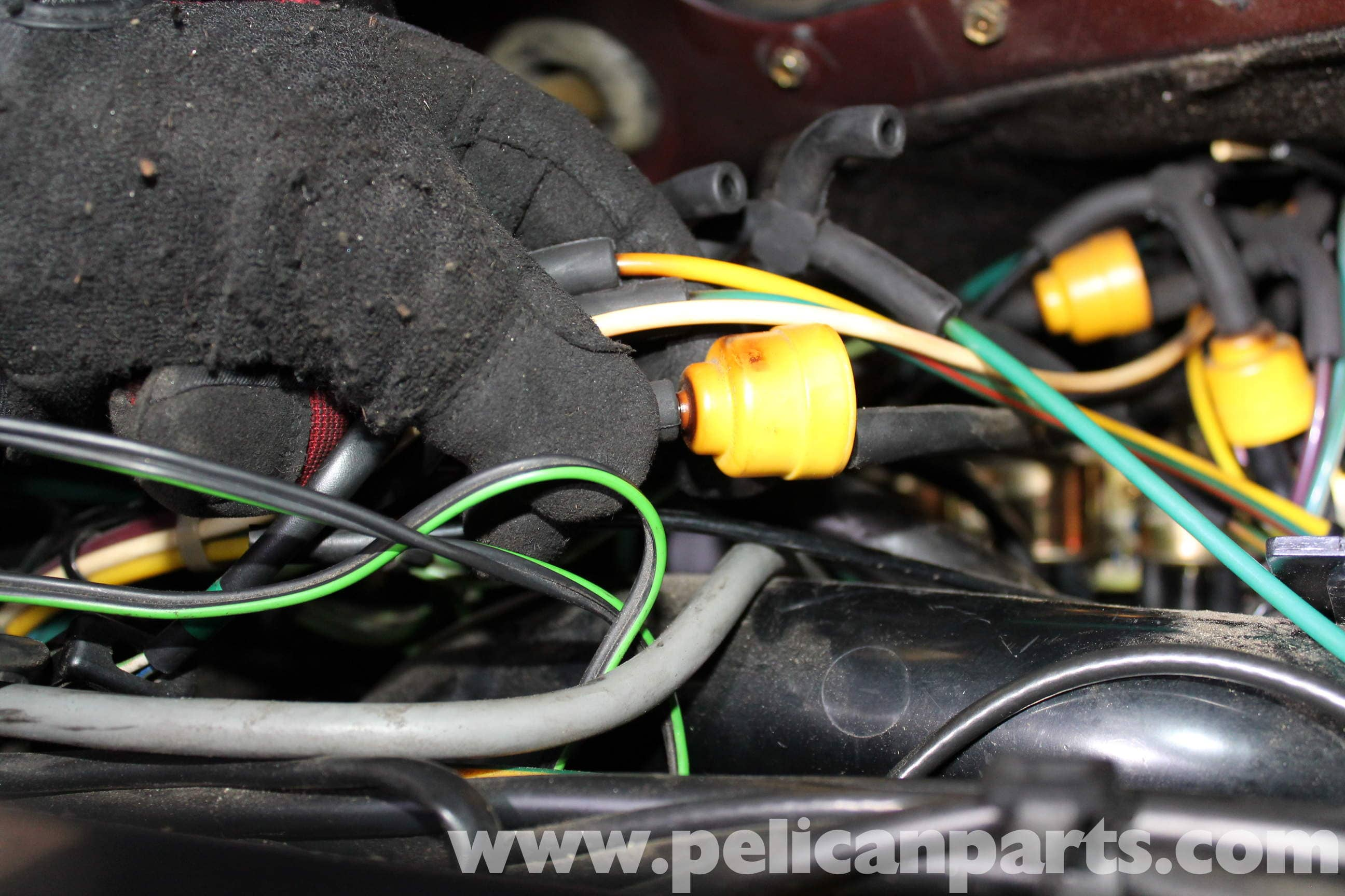3way Wiring Diagram Mercedes Benz R107 Main Vacuum Switch Replacement 1972